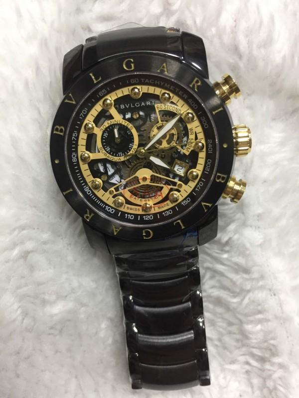 Réplica de relógio Bvlgari Novo Com Safira BVNCS-0010