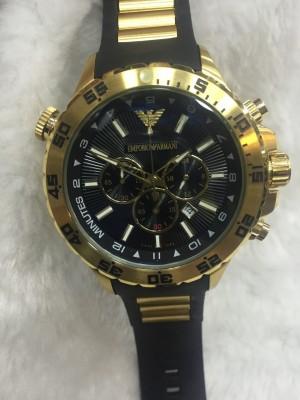 Réplica de relógio Armani AR Borracha Jorginho ARBJ-002