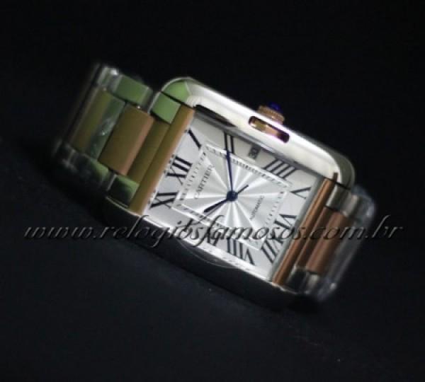 Réplica de relógio REPLICA CARTIER RETANGOLO MISTO CAR10