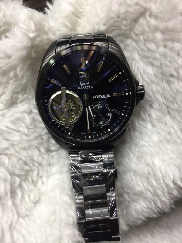Réplica de relógio TAG Heuer Pendulum Aço NRTHPA-002