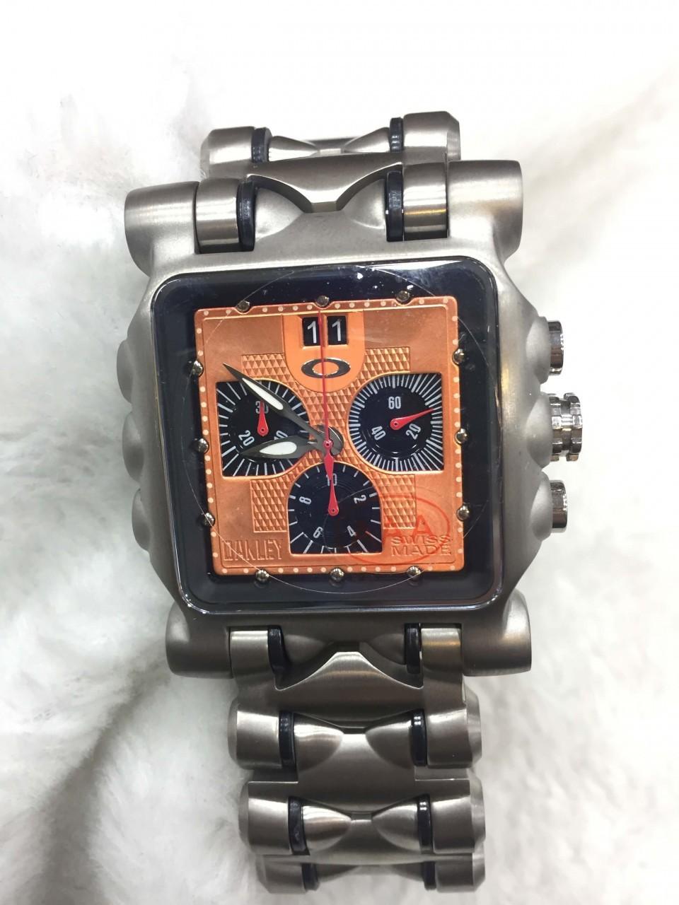 4c2f0d6c165 Réplicas de relógios Oakley qualidade AAA em até 12X - Relógios De ...