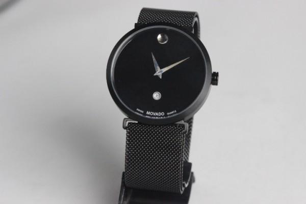 Réplica de relógio Relógio Movado Aço Preto