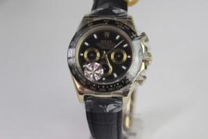 Réplica de relógio ROLEX DAYTONA CERAMIC COURO