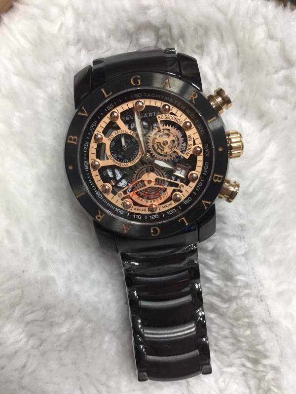 Réplica de relógio Bvlgari Novo Com Safira BVNCS-0011