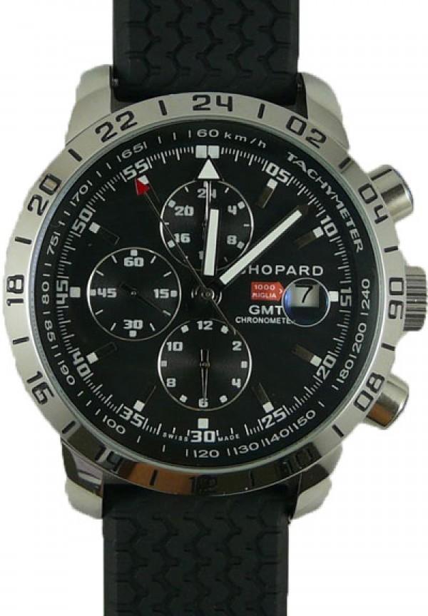 Réplica de relógio Réplica de Relógio Chopard 1000 Miglia Preto
