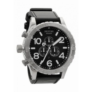 Réplica de relógio Réplica de Relógio Nixon The 51-30 Stell Black