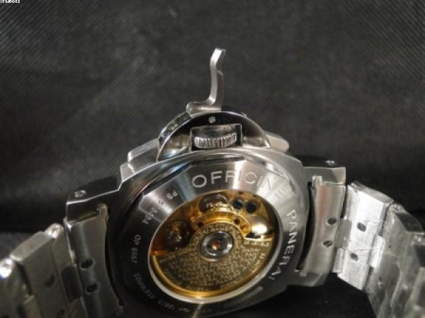 Réplica de relógio REPLICA DE RELOGIO PANERAI LUMINOR DAYLIGHT AÇO - PAN05