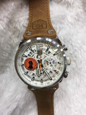Réplica de relógio TAG Heuer John Couro NRTHJC-003