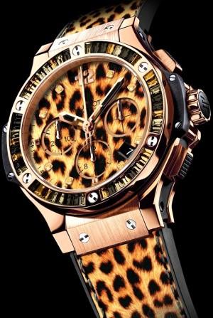 Réplica de relógio Réplica de Relógio Hublot Big Bang Leopards