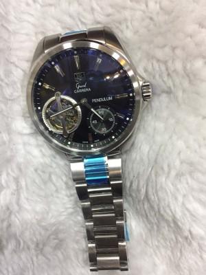 Réplica de relógio TAG Heuer Pendulum Aço NRTHPA-001