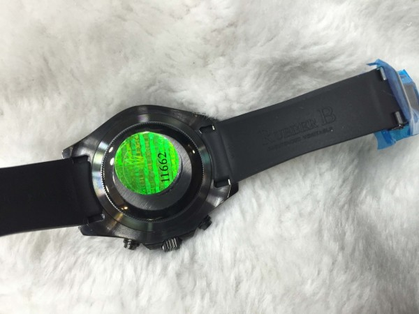 Réplica de relógio Rolex Yacht-Master II Borracha RRYMII-002