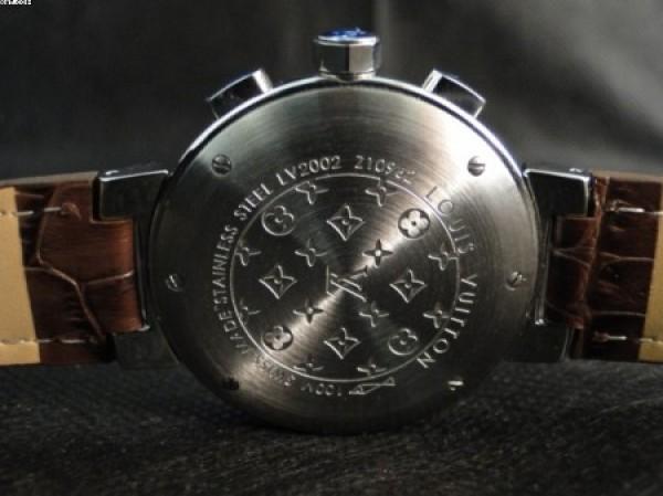 Réplica de relógio REPLICA DE RELOGIO LOUIS VUITTON TAMBOUR MARRON - LVT02