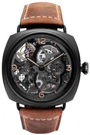Réplica de relógio Réplica de Relógio Panerai Radiomir Tourbillon GMT Cerâmica
