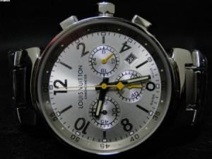 Réplica de relógio REPLICA DE RELOGIO LOUIS VUITTON AÇO FUNDO BRANCO - LVT03