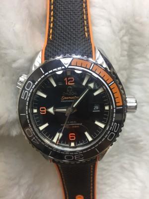 Réplica de relógio Omega Seamaster Borracha ROMSM-001
