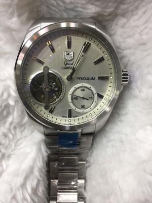 Réplica de relógio TAG Heuer Pendulum Aço NRTHPA-003