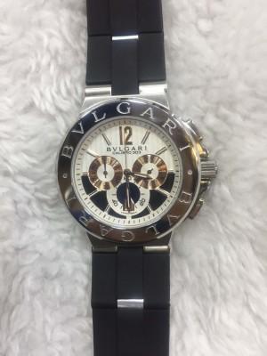 Réplica de relógio Bvlgari Pulseira Borracha Novo  RBBN-001