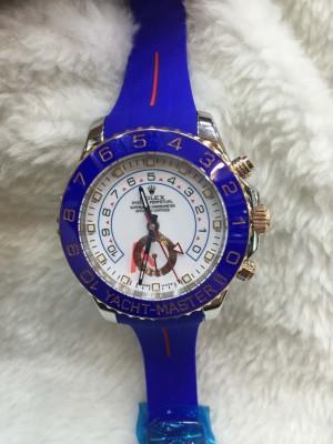 Réplica de relógio Rolex Yacht-Master II Borracha RRYMII-003