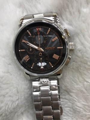 Réplica de relógio MontBlanc Aço RMBAN-007