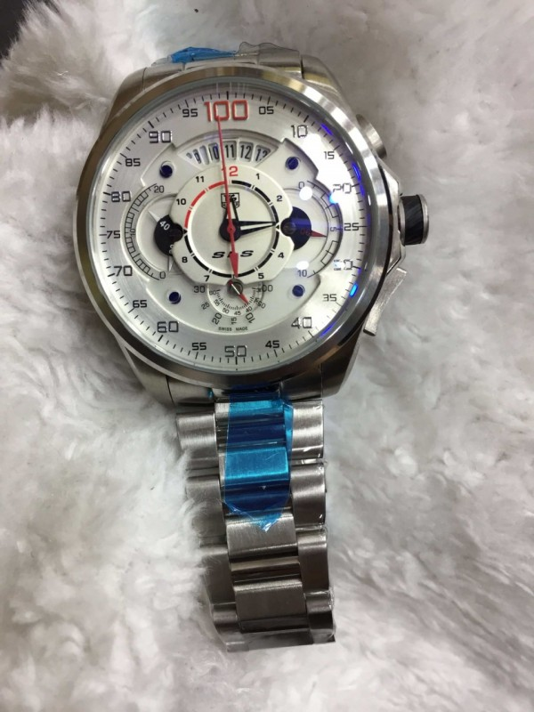 Réplica de relógio TAG Heuer Mercedes Aço NRTHMA-003