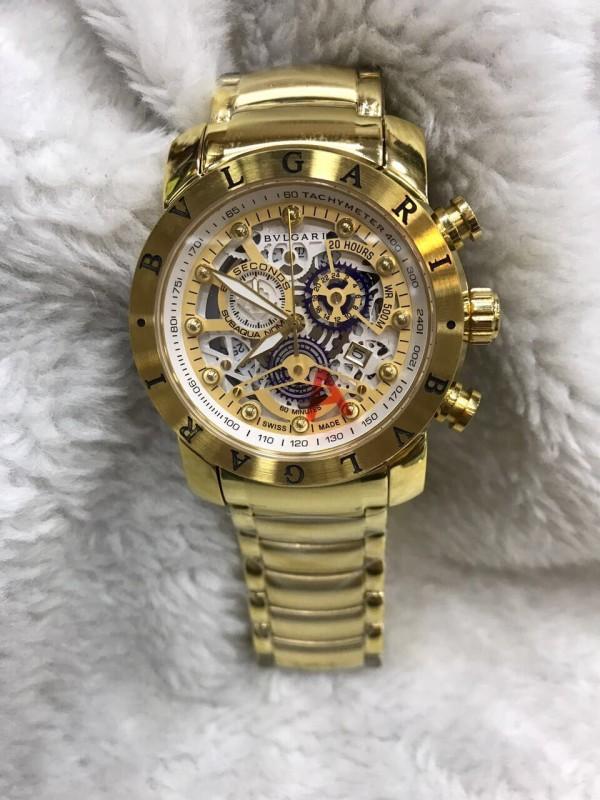 Réplica de relógio Bvlgari Novo Com Safira BVNCS-0023