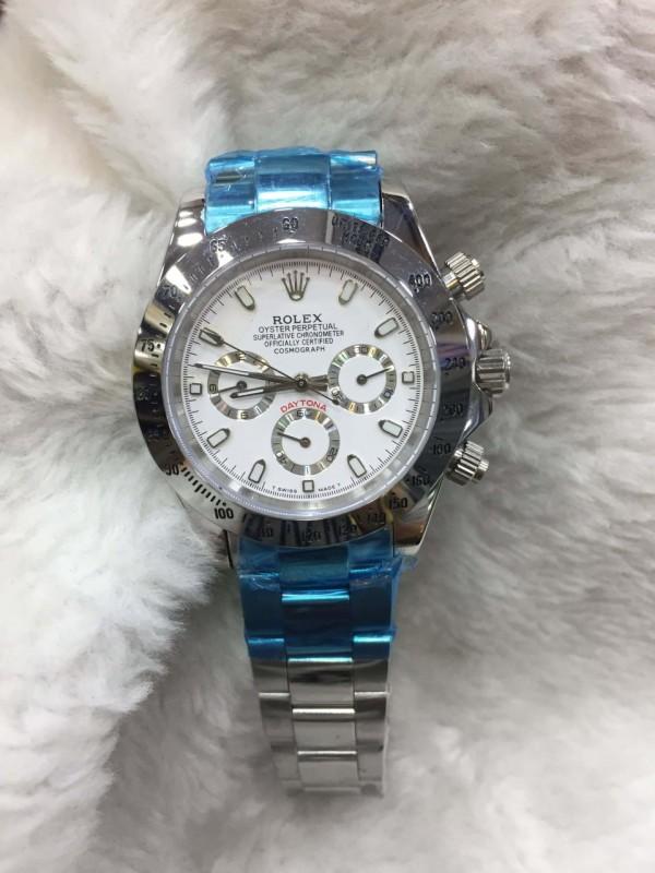 Réplica de relógio Rolex Daytona Pulseira Aço RDPA-008
