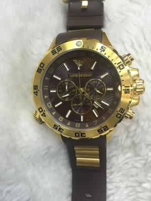 Réplica de relógio Armani AR Borracha Jorginho ARBJ-003