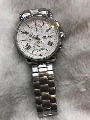 Réplica de relógio MontBlanc Aço RMBAN-005