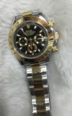 Réplica de relógio Rolex Daytona Pulseira Aço RDPA-007