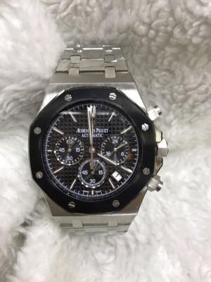 Réplica de relógio Audemars Piguet Pulseira Aço Com Crono APAC-001
