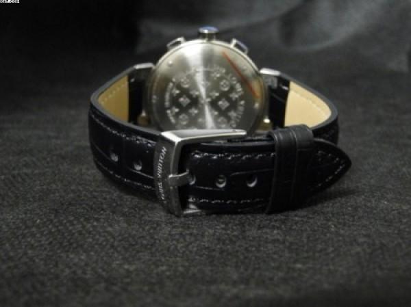 Réplica de relógio REPLICA DE RELOGIO LOUIS VUITTON TAMBOUR COURO - LVT01