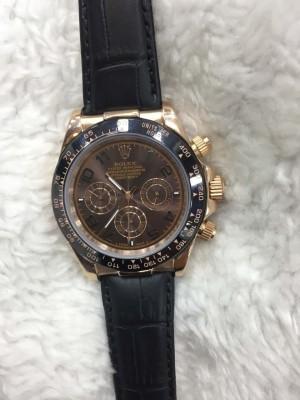 Réplica de relógio Rolex Daytona Couro Normal RDCO-003