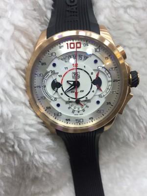 Réplica de relógio TAG Heuer Mercedes BORRACHA NRTHMB-003