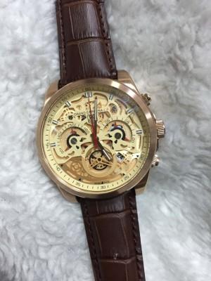 Réplica de relógio TAG Heuer CR7 COURO NRTHCR7-005