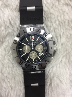 Réplica de relógio Bvlgari Pulseira Borracha Novo  RBBN-006