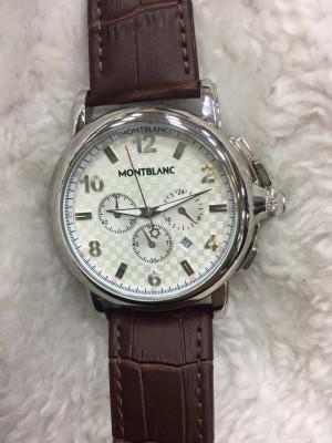 Réplica de relógio  MontBlanc Couro MBC-005