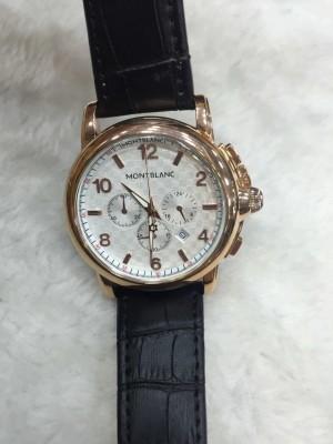 Réplica de relógio MontBlanc Couro MBC-004