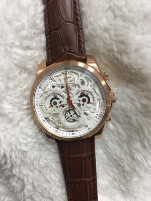 Réplica de relógio TAG Heuer CR7 COURO NRTHCR7-004