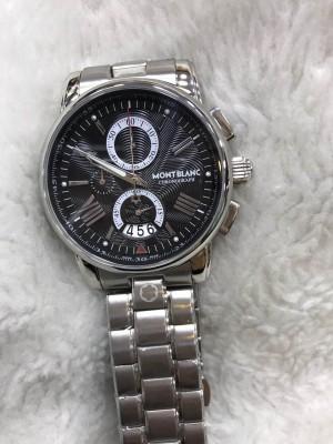 Réplica de relógio MontBlanc Aço RMBAN-006