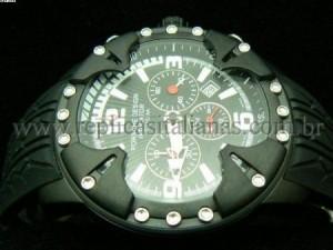 Réplica de relógio REPLICA DE RELOGIO PORSCHE INDICATOR CATRACA PVD - POR07